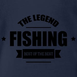 Fishing Shirts - Organic Short-sleeved Baby Bodysuit