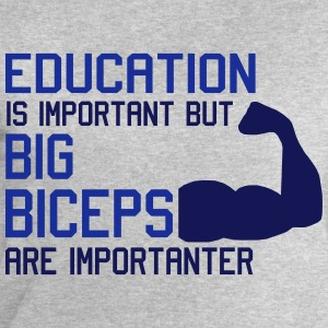 BIG BICEPS ARE IMPORTANTER Koszulki - Bluza męska Stanley & Stella