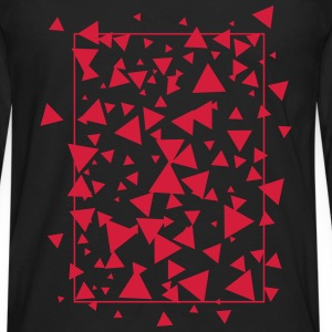 triangles Tee shirts - T-shirt manches longues Premium Homme