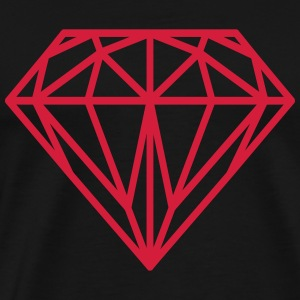 Diamant Hoodies & Sweatshirts - Men's Premium T-Shirt