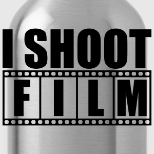 I Shoot film Logo T-Shirts - Water Bottle