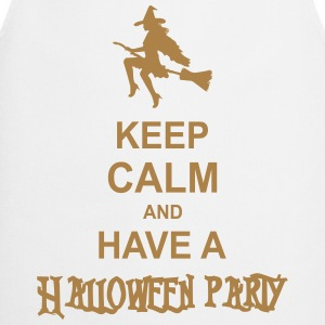 keep calm and have a halloween party Hoodies - Cooking Apron
