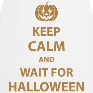 keep calm and wait for halloween T-Shirts - Cooking Apron