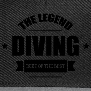 Diving The Legend Flaschen & Tassen - Snapback Cap