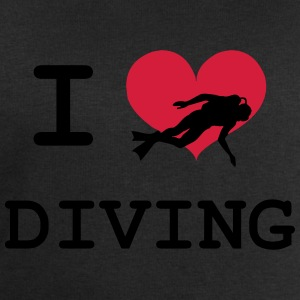 I Love Diving T-Shirts - Männer Sweatshirt von Stanley & Stella
