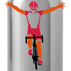 Road cyclists at finish Shirts - Water Bottle
