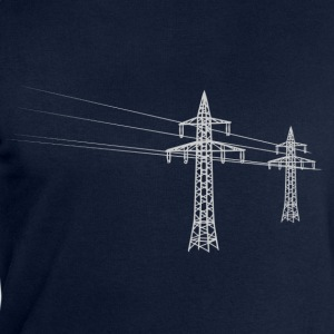 Overland power pole white T-Shirts - Men's Sweatshirt by Stanley & Stella
