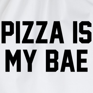 Pizza is my bae T-Shirts - Drawstring Bag