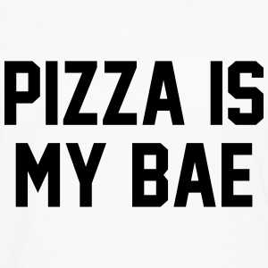 Pizza is my bae T-Shirts - Men's Premium Longsleeve Shirt