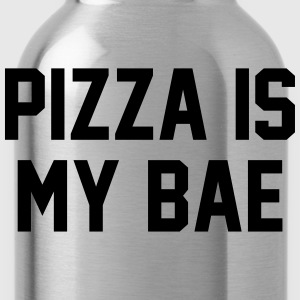 Pizza is my bae T-shirts - Drikkeflaske