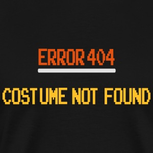 Error 404 Costume Not Found patjila_2014 Tank Tops - Men's Premium T-Shirt