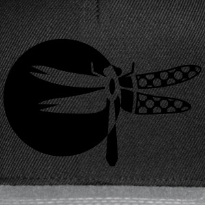 A Dragonfly Patch  Bags & Backpacks - Snapback Cap