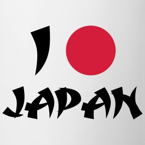 I Love Japan T-shirts - Mugg