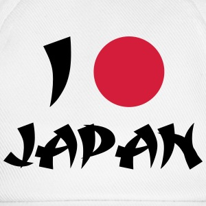 I Love Japan Felpe - Cappello con visiera