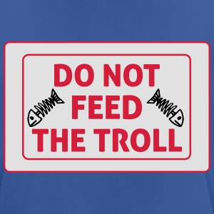 Do Not Feed The Troll Bottles & Mugs - Men's Breathable T-Shirt