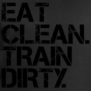 Eat Clean Train Dirty Tee shirts - Sweat-shirt Homme Stanley & Stella