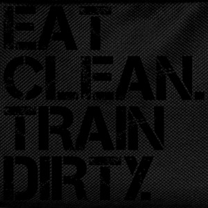 Eat Clean Train Dirty T-Shirts - Kids' Backpack
