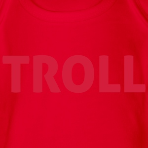 Troll Shirts - Organic Short-sleeved Baby Bodysuit