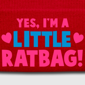 YES, I'm a little RATBAG! naughty child funny  Accessories - Winter Hat