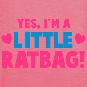 YES, I'm a little RATBAG! naughty child funny  Accessories - Women's Tank Top by Bella