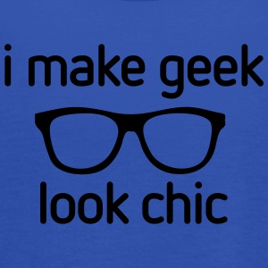 I make Geek look Chic T-shirts - Vrouwen tank top van Bella
