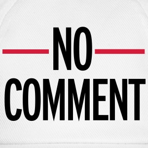 No Comment T-shirts - Basebollkeps