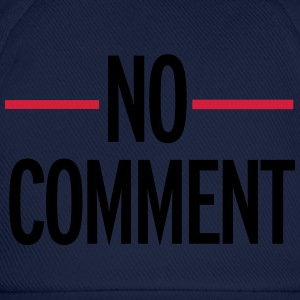 No Comment Hoodies & Sweatshirts - Baseball Cap