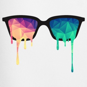 Abstract Psychedelic Nerd Glasses with Color Drops Hoodies & Sweatshirts - Men's Football shorts