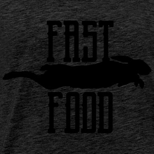 fast food Sweat-shirts - T-shirt Premium Homme