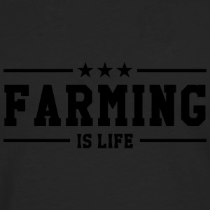 Farming is life Shirts - Men's Premium Longsleeve Shirt