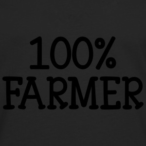 100% Farmer Hoodies - Men's Premium Longsleeve Shirt