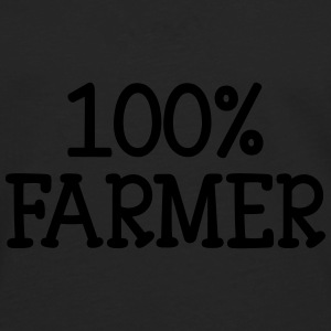 100% Farmer Bottles & Mugs - Men's Premium Longsleeve Shirt