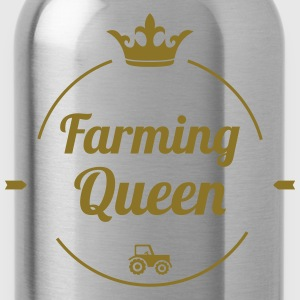 Farming Queen Magliette - Borraccia