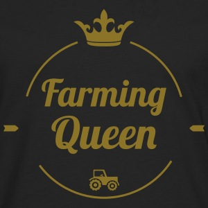 Farming Queen Hoodies - Men's Premium Longsleeve Shirt