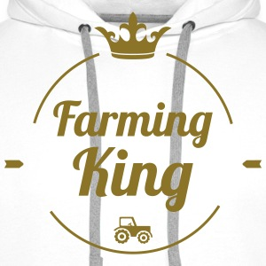 Farming King T-Shirts - Men's Premium Hoodie