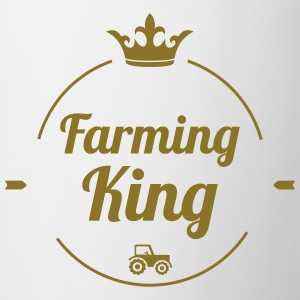 Farming King Camisetas - Taza
