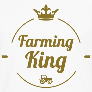 Farming King T-Shirts - Men's Premium Longsleeve Shirt