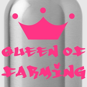 Queen of Farming T-Shirts - Trinkflasche