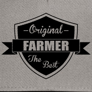 The Best Farmer T-Shirts - Snapback Cap