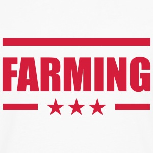 Farming T-Shirts - Men's Premium Longsleeve Shirt