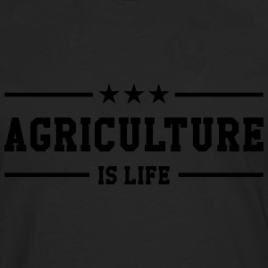 Agriculture is life T-Shirts - Men's Premium Longsleeve Shirt
