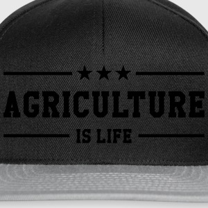 Agriculture is life Tee shirts - Casquette snapback