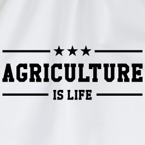 Agriculture is life Caps & Hats - Drawstring Bag