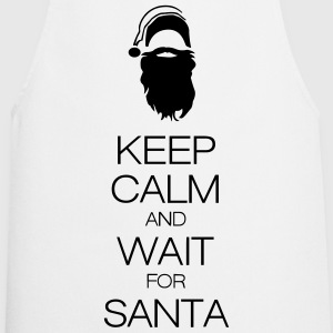 keep calm and wait for santa T-paidat - Esiliina