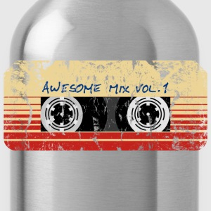 Mix Tape Awesome Vol.1 T-Shirts - Trinkflasche