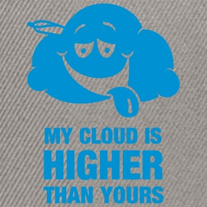 My cloud is higher than yours Bags & Backpacks - Snapback Cap