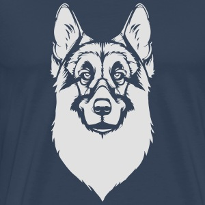 German Shepherd Long Sleeve Shirts - Men's Premium T-Shirt