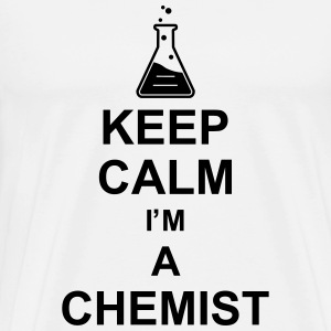 keep_calm_i'm_a_chemist_g1 Tabliers - T-shirt Premium Homme