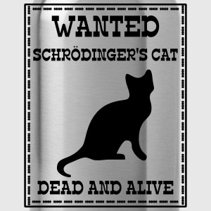 Wanted Schrödinger's Cat - Dead And Alive Sweatshirts - Drikkeflaske