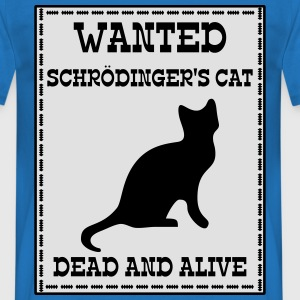 Wanted Schrödinger's Cat - Dead And Alive Sweaters - Mannen T-shirt